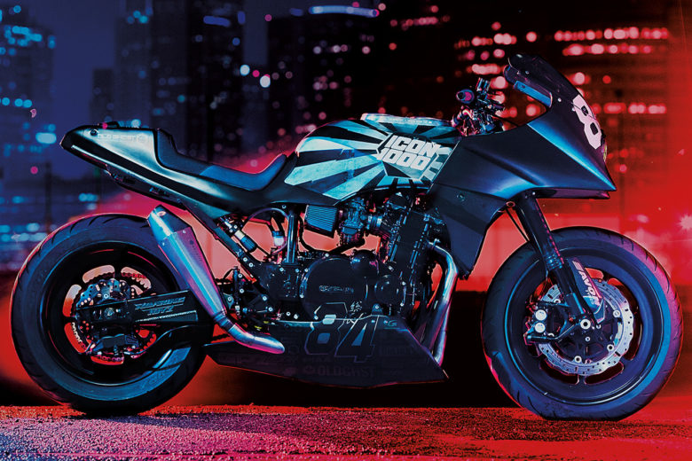 Kawasaki GPZ900R Old Ghost by Icon 1000