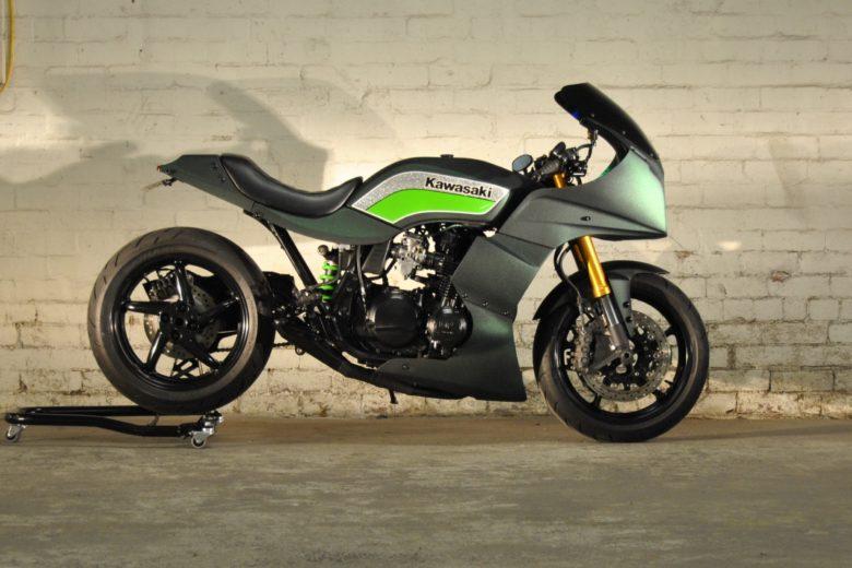 Kawasaki GPZ750 Restomod by Papajhotel.com