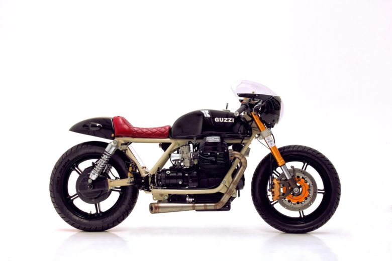 Moto Guzzi by Herencia Custom Garage