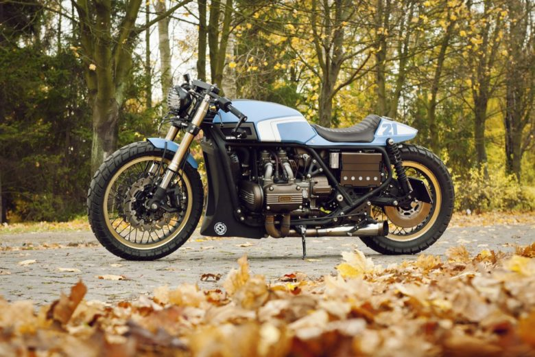 Honda GL1000 GoldWing by Cardsharper Customs