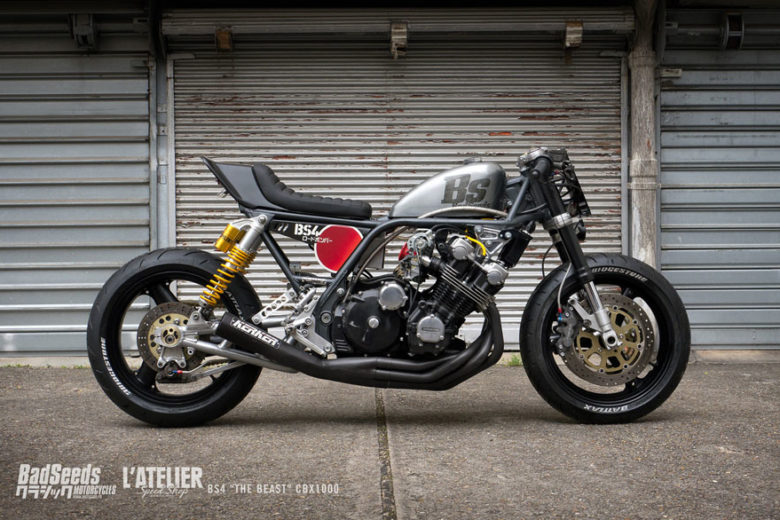 "Honda CBX1000 1981 ""BS4"" from Bad Seeds"