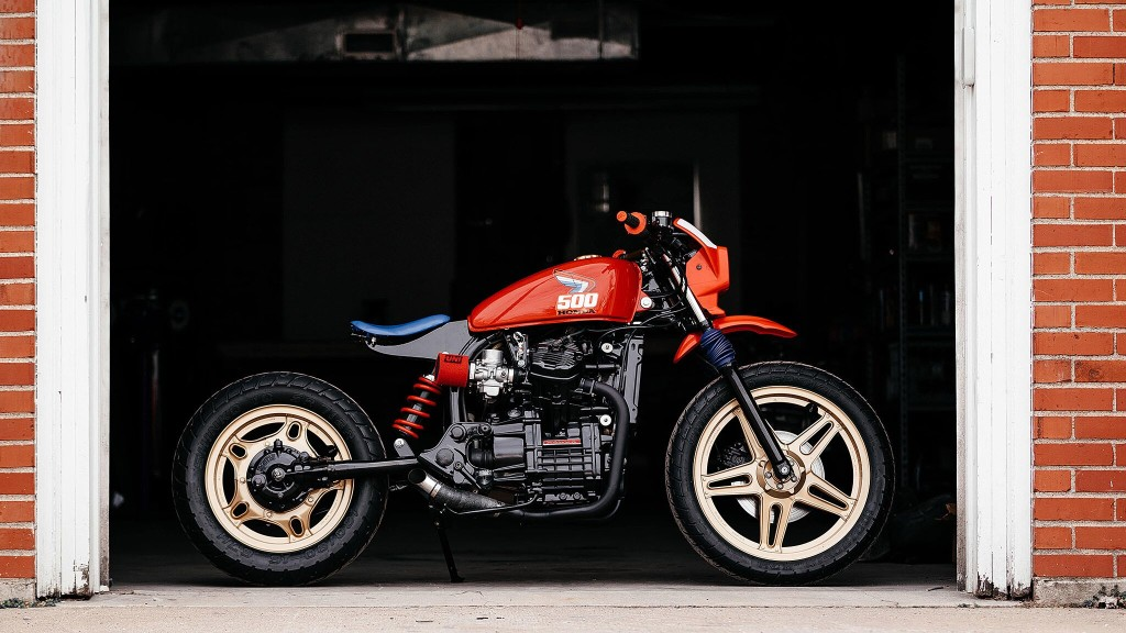 Honda CX500 Tracker by Brick House Builds