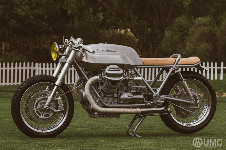 Custom 1975 Moto Guzzi 850T