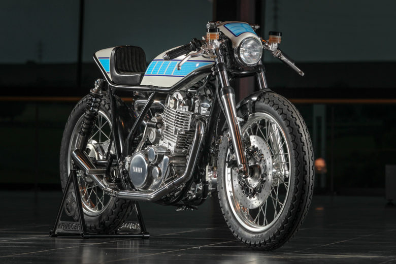 Supercharged Yamaha SR400 from Fred Krugger