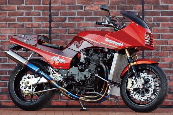KAWASAKI GPZ900R/No.004 from BULL DOCK