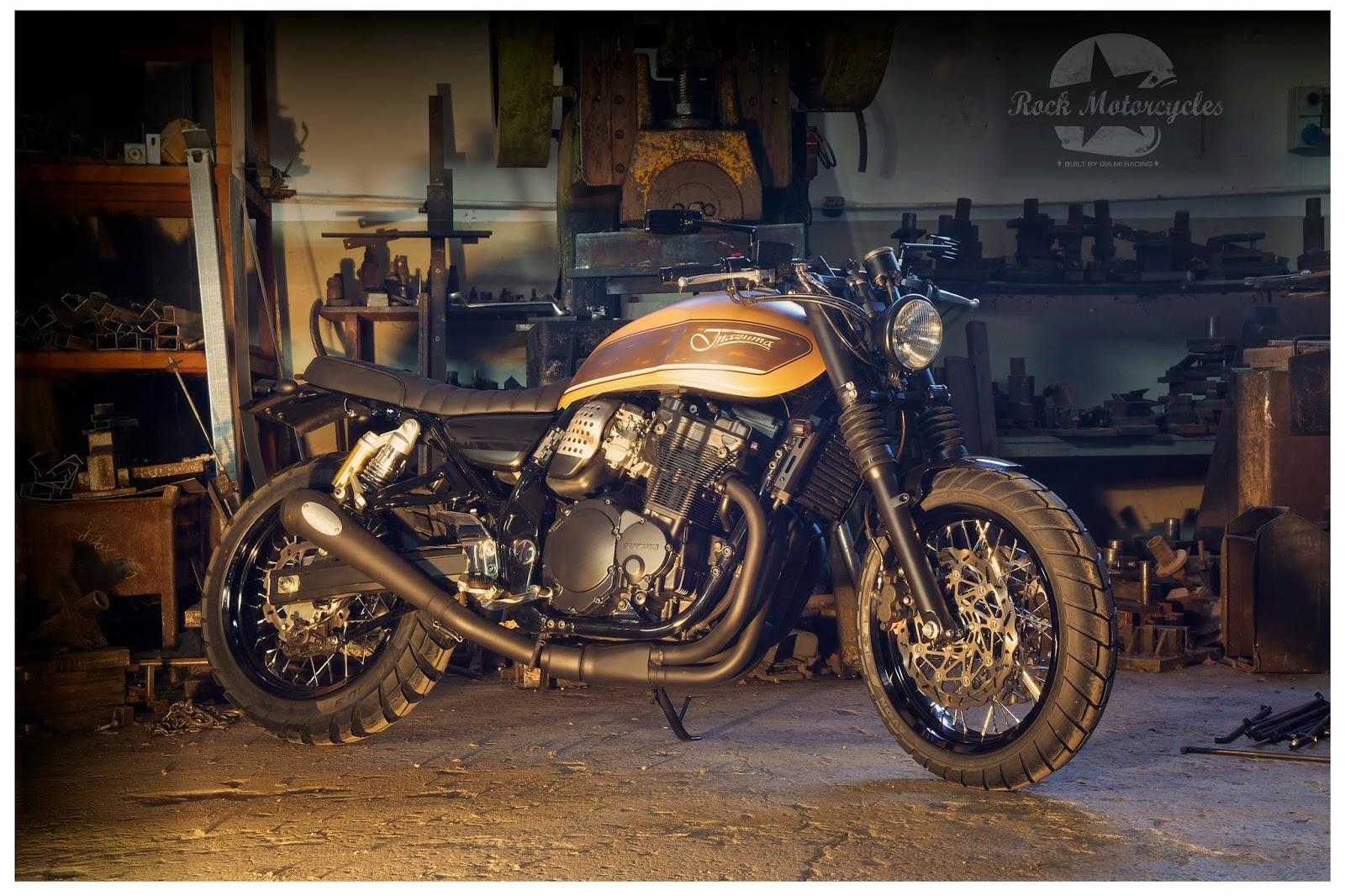 Inazuma 750 Scrambler by Gia Mi Motorcycles
