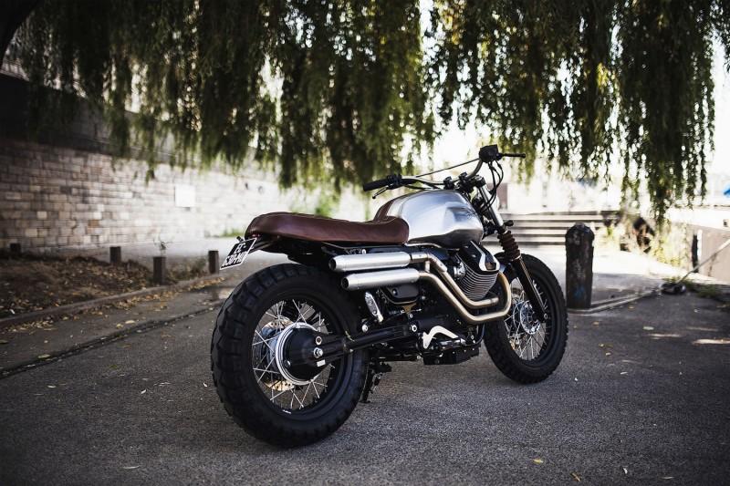 Moto Guzzi V7 Scrambler from BAAK Motorcycles