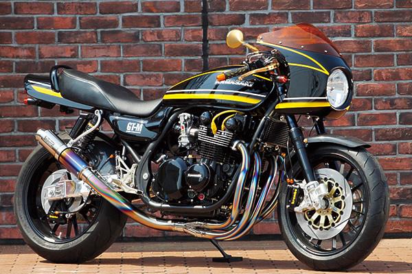 Kawasaki Zephyr 750 by Bull Dock