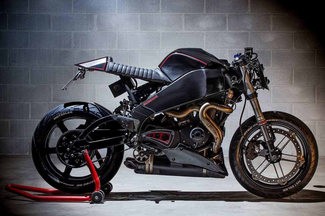Buell XB9 Cafe Racer by Iron Pirate Garage