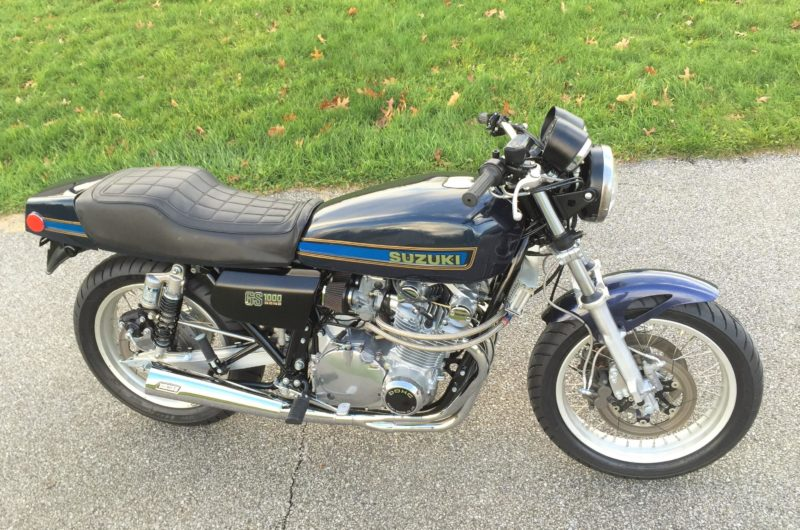 1978 Suzuki GS1000E Left for dead