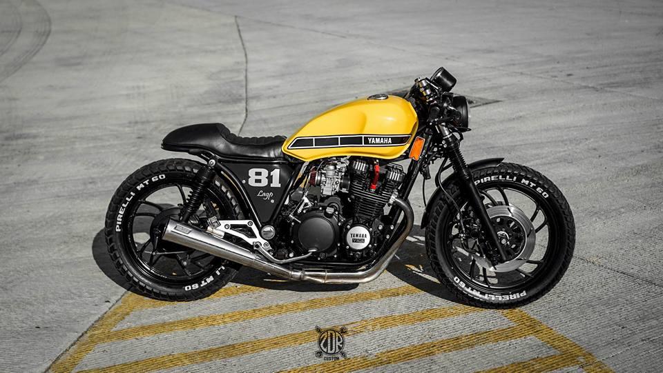 yamaha seca 750cc 81 39 from zdr custom moto. Black Bedroom Furniture Sets. Home Design Ideas