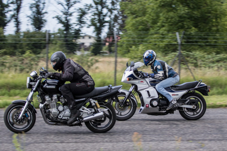 Muscle Race - XJR vs GPZ