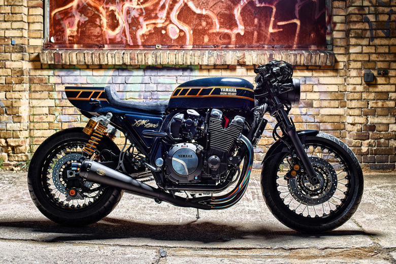 Yamaha XJR1300 Yard Built by Iron Heart