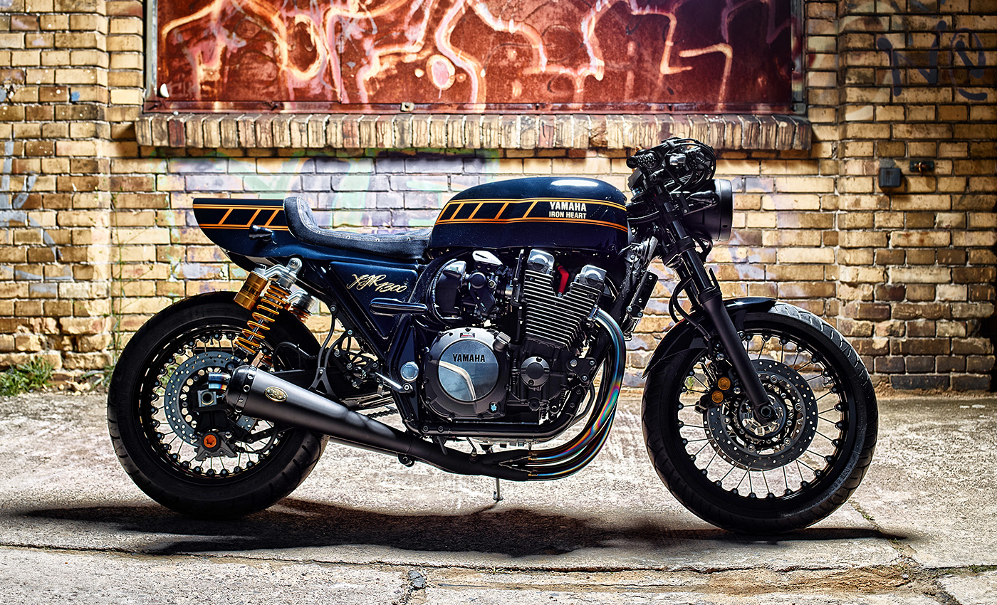 Yamaha XJR1300 Yard Built By Iron Heart