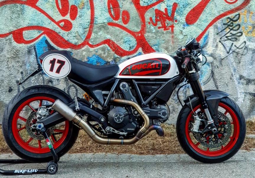 Custom Rumble Ducati Scrambler