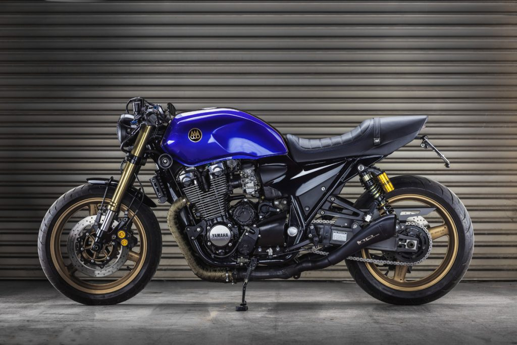 Yamaha Xjr1300 Quot The Big Blue Quot By Macco Motors