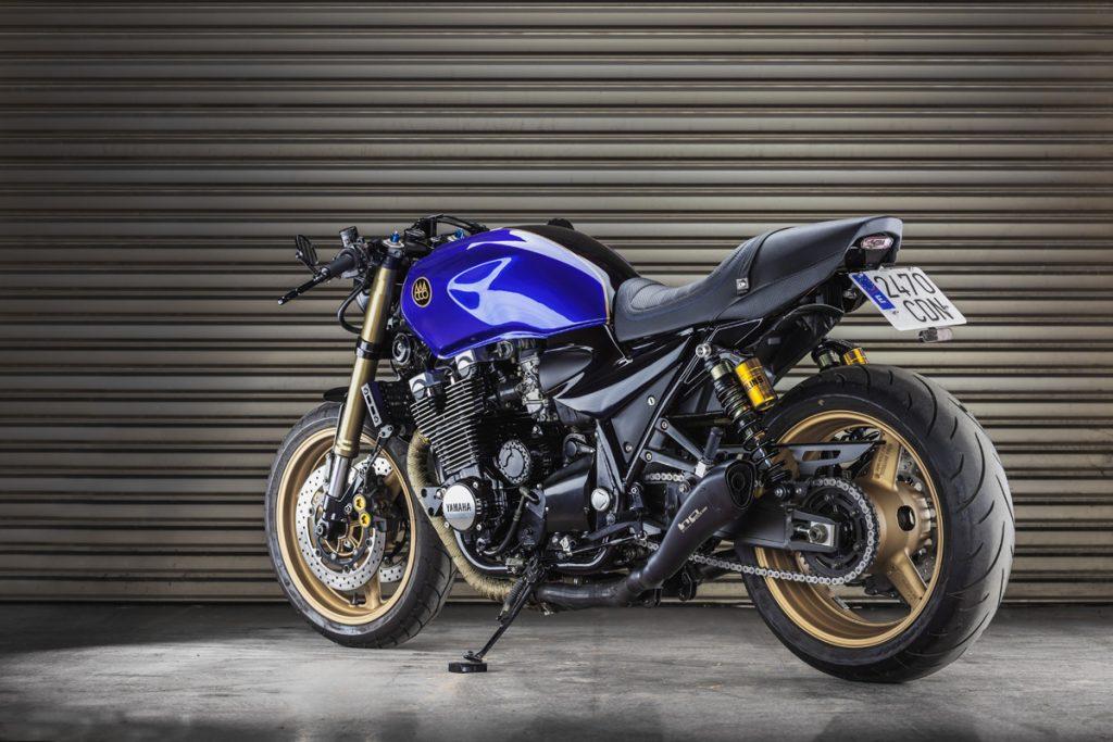 Yamaha XJR1300 The Big Blue by Macco Motors