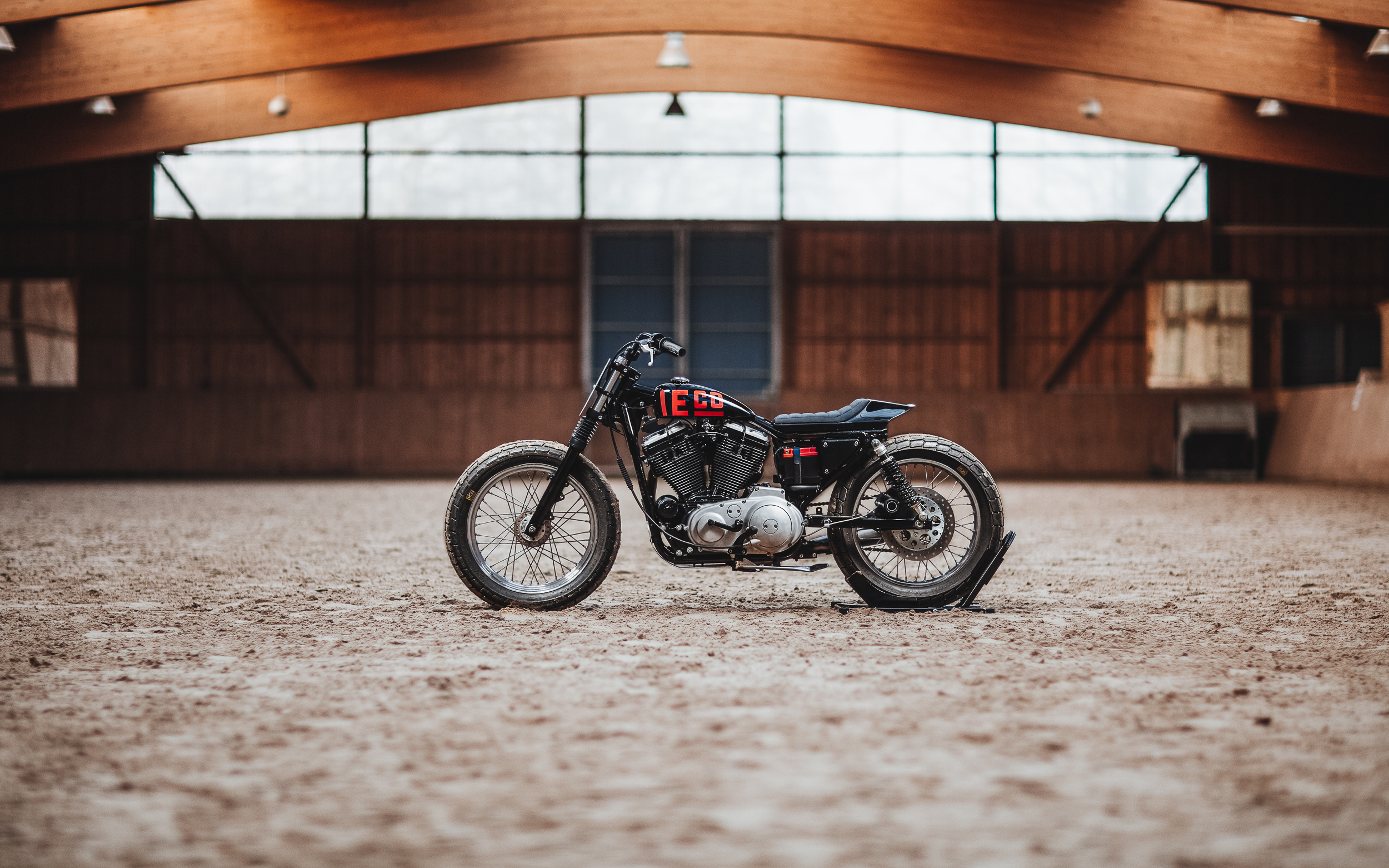 1991 Harley-Davidson Sportster XLH 883 Tasmanian Devil from Hookie Co.