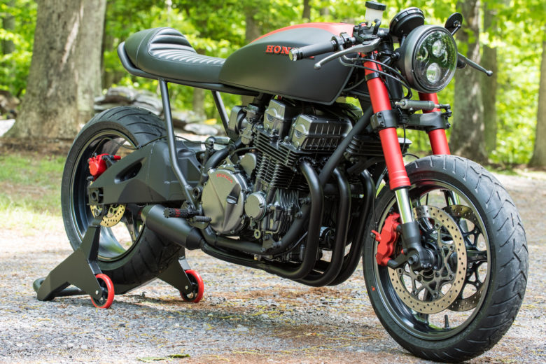 Honda CB750 Project Scorpion By Industrial Moto