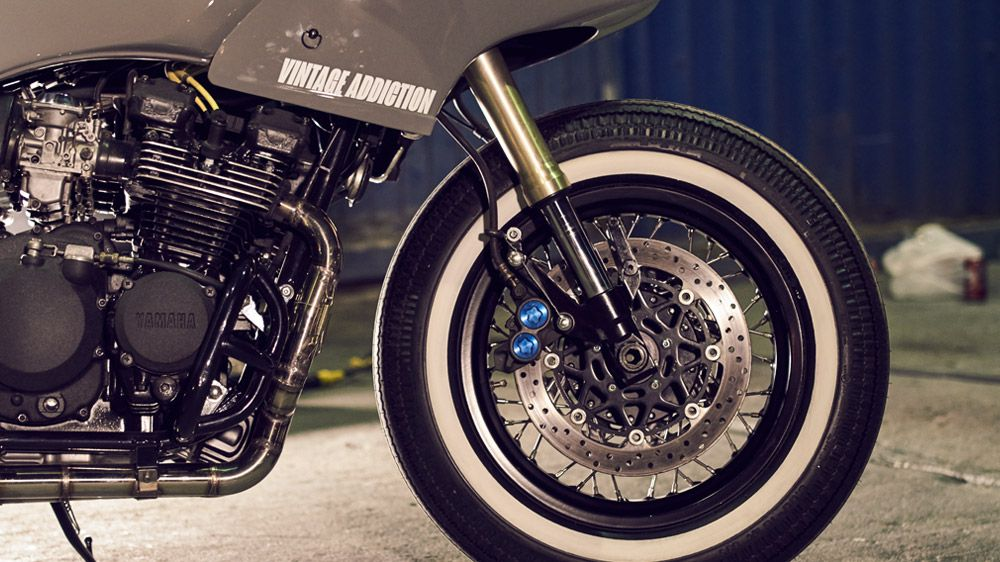 Yamaha XJ600 Restomod by Vintage Addiction
