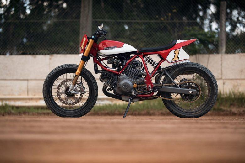 Ducati Street Tracker by Fuller Moto