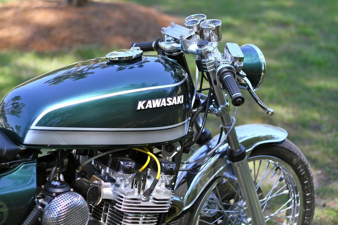Turbocharged 1978 Kawasaki KZ650 from Magnum Opus Custom Bikes