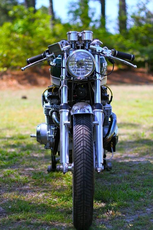 Turbocharged 1978 Kawasaki KZ650 from Magnum Opus Custom Bikes