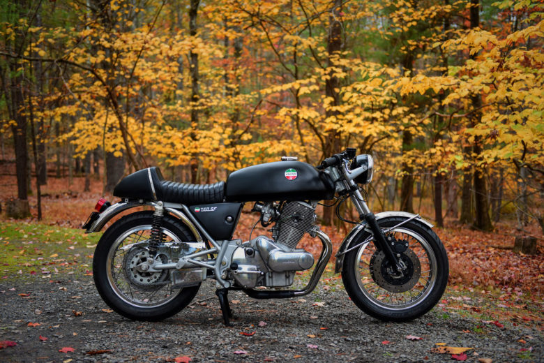 1974 Laverda SF2 Custom by Moto Borgotaro