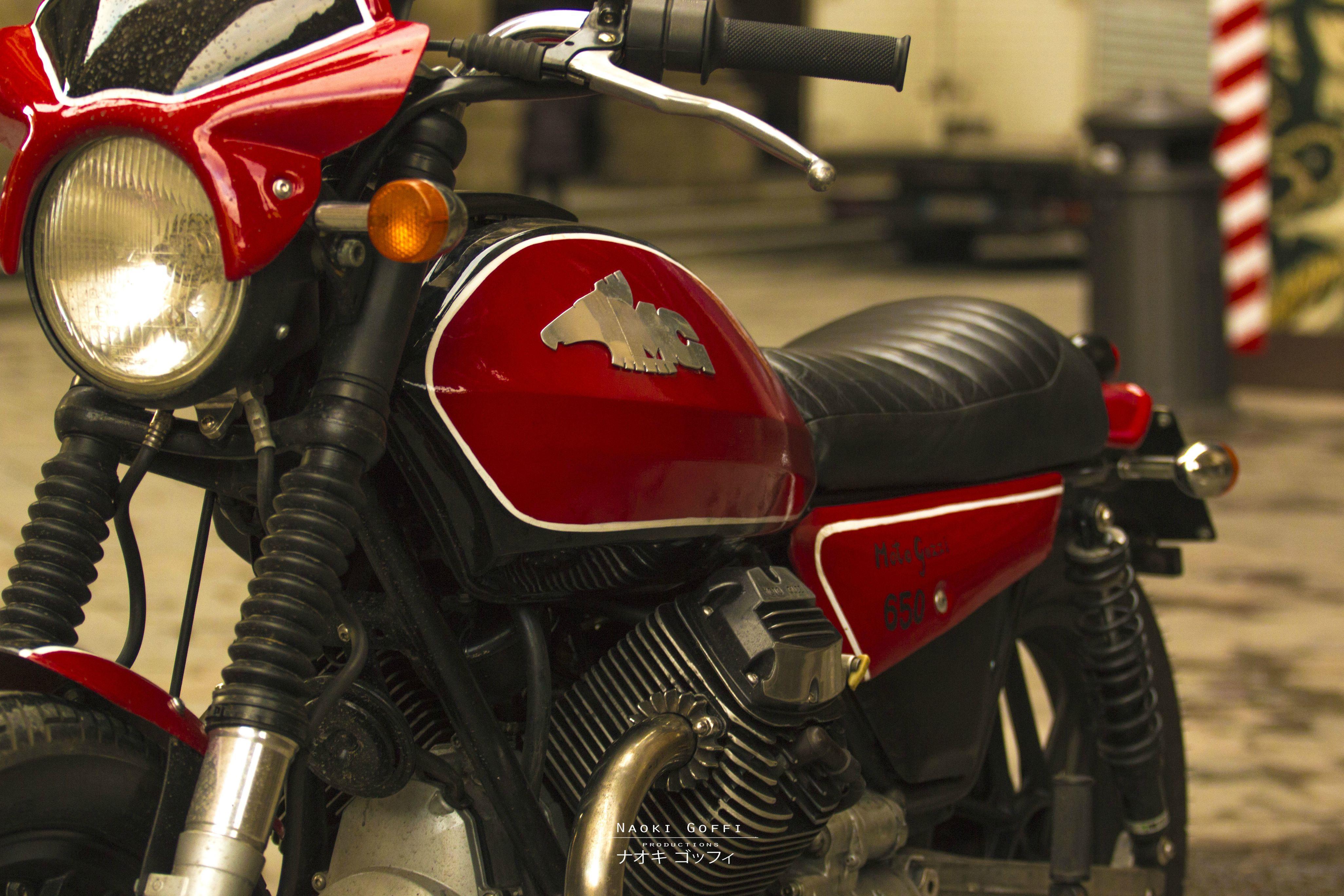 MotoGuzzi V65 by Fabio Goffi