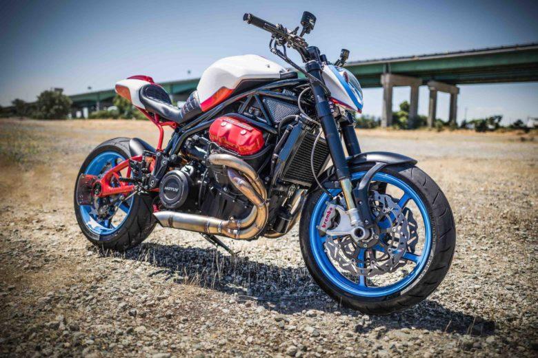 1,600cc V-4 Motus by Fuller Moto