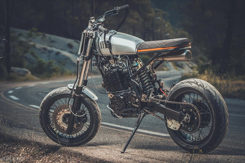 """XR600 """"Mad Max"""" by Duke Motorcycles"""