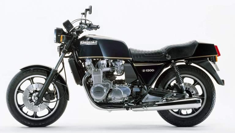Kawasaki Z1300 history