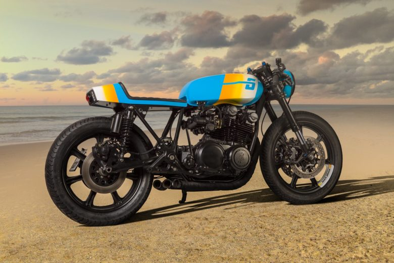 "Yamaha XS750 ""Beach Please"" by United Customs"