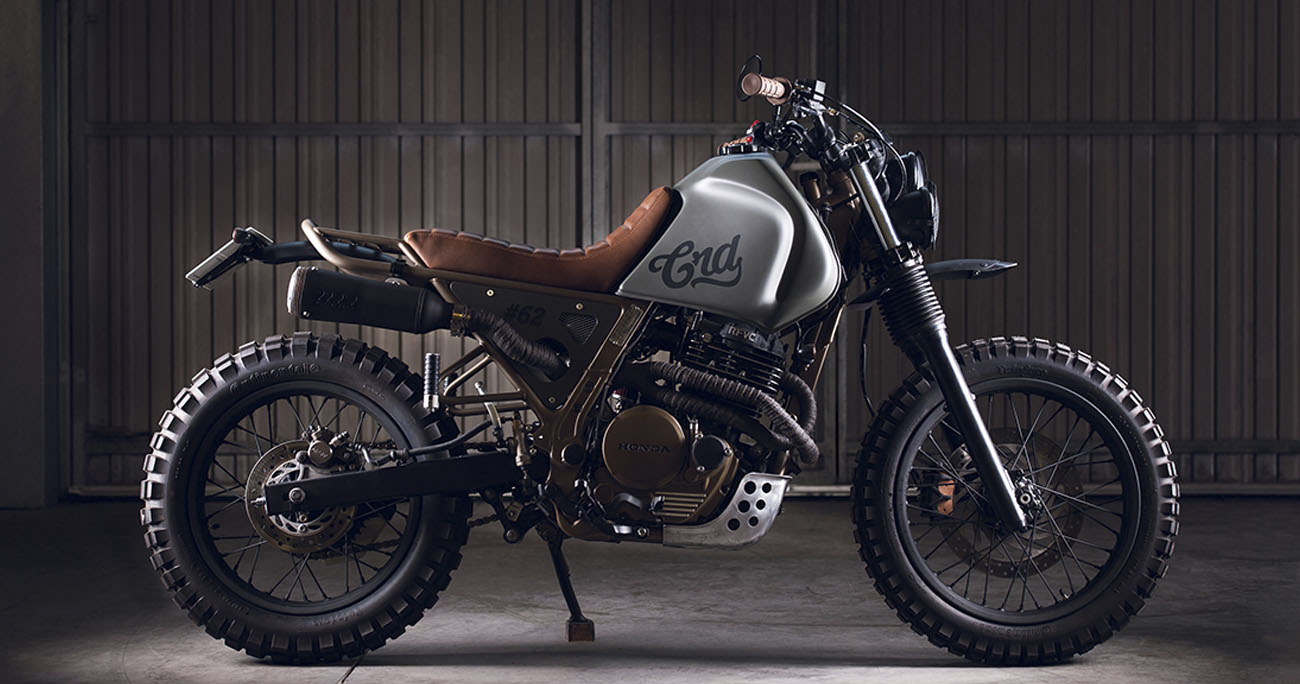 "NX650 ""CRD62"" Dominator by Cafe Racer Dreams"