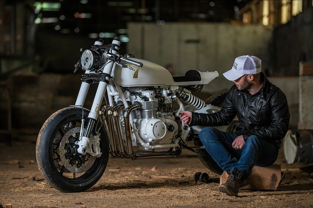 "Honda CB500 ""Mrs Duke"" by Duke Motorcycles"