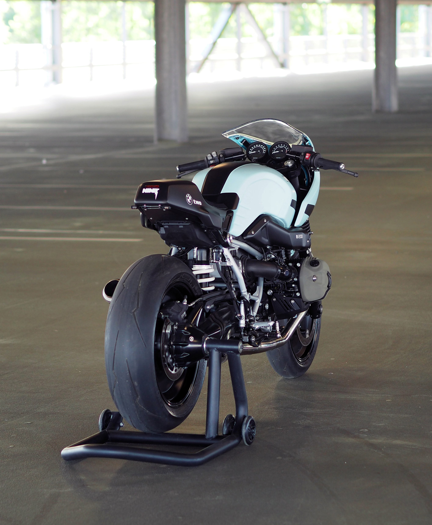 BMW RnineT Racer by JVB Moto