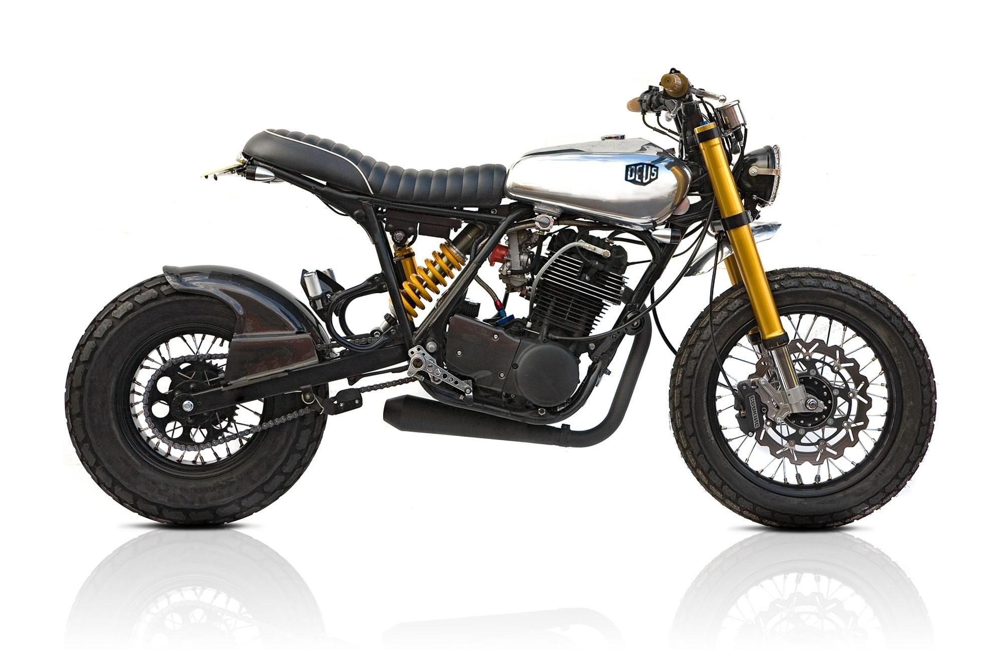 Yamaha SR400 Mono by Deus