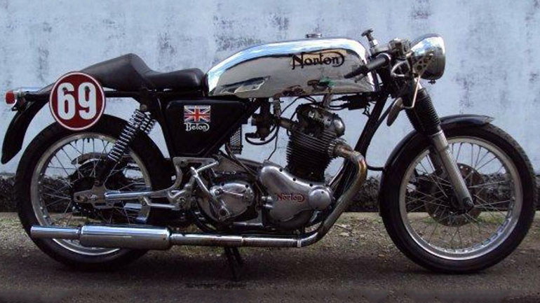 1969 Norton Commando Cafe Racer