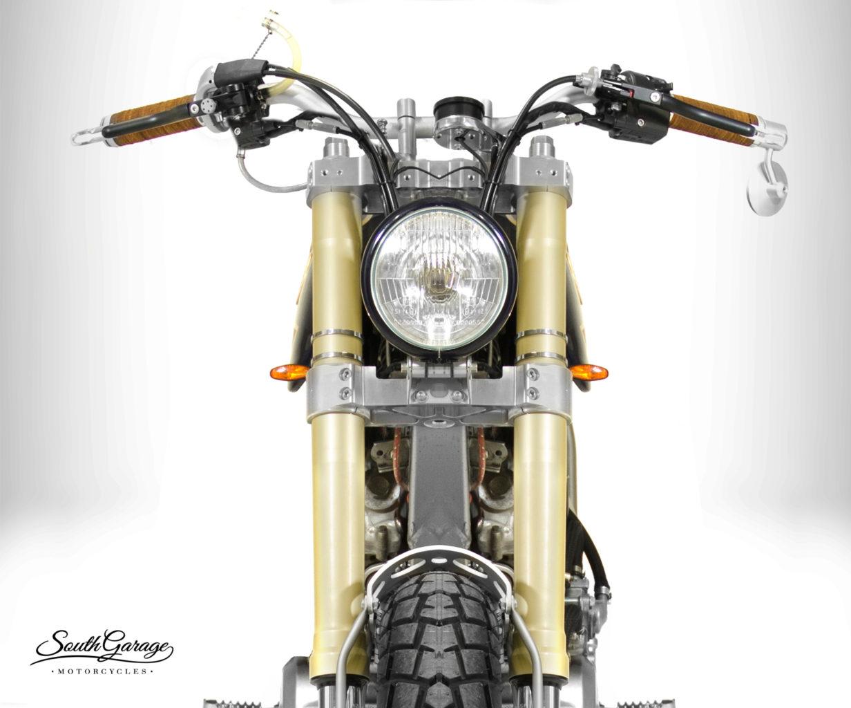 "Honda Dominator ""Calipso"" by South Garage"