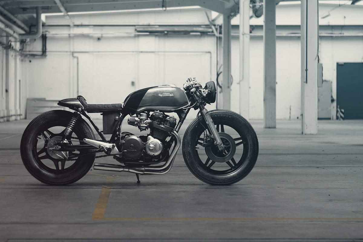 Honda CB750 Cafe Racer by Hookie Co
