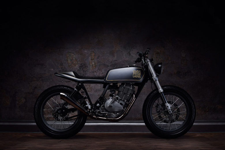 "Suzuki GN400 ""13"" by Ventus Garage"