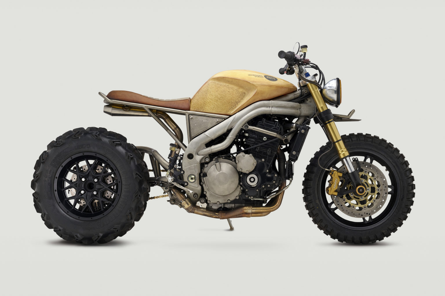 "2007 Speed Triple ""Frank"" by Classified Moto"