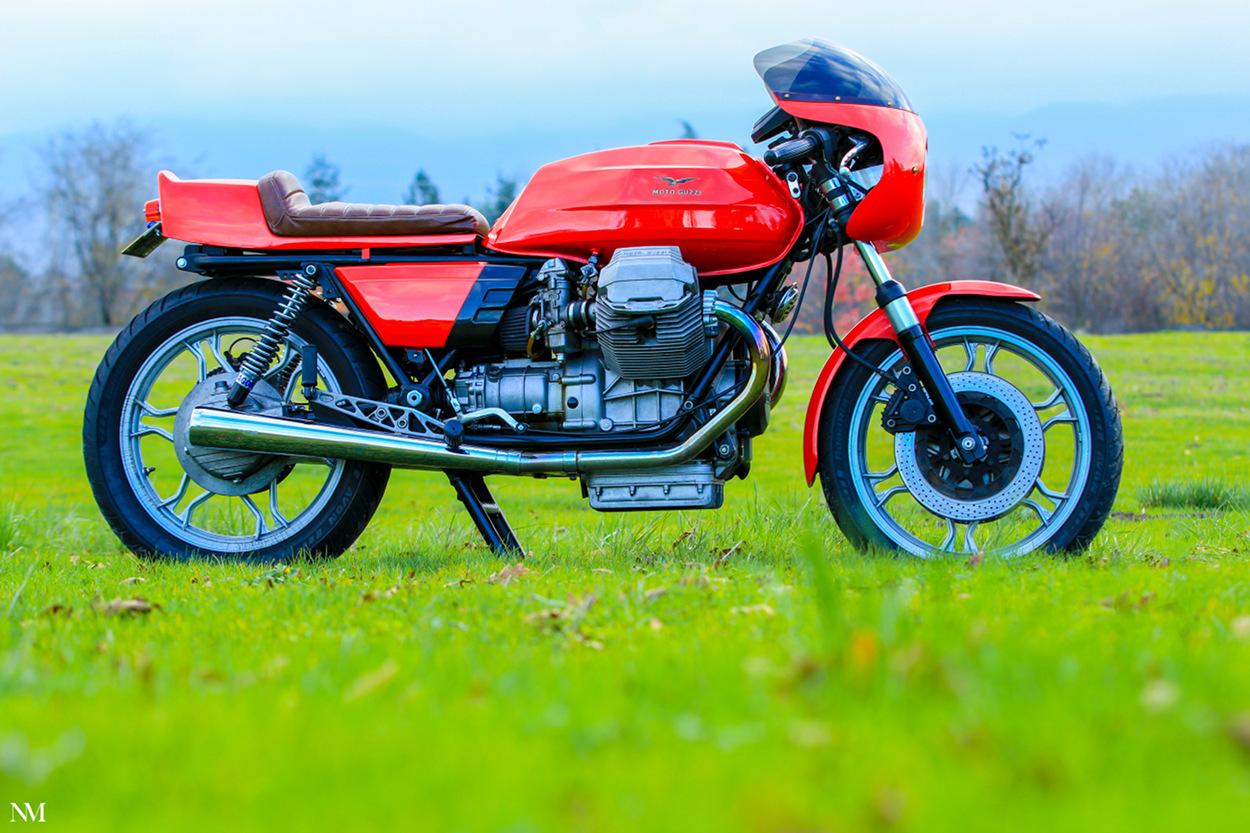 Moto Guzzi 850 Le Mans Cafe Racer by Nic Millan