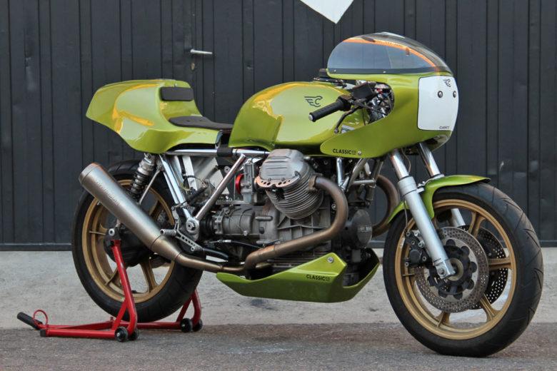 "MotoGuzzi 1100 Racer ""Corsa #9"" by Classic Co."