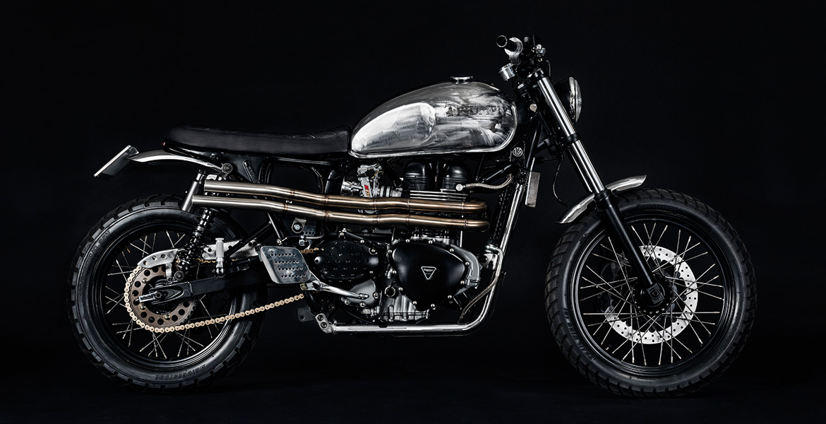 Triumph Bonneville by North East Custom