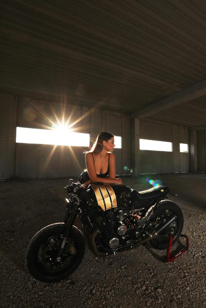 """Honda CBX 750F """"La Maja Desnuda"""""""