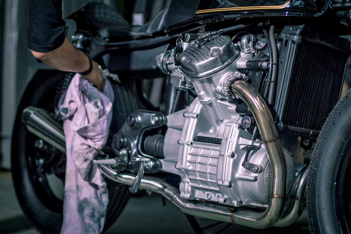 Honda CX500 by KerkuS Motorworks