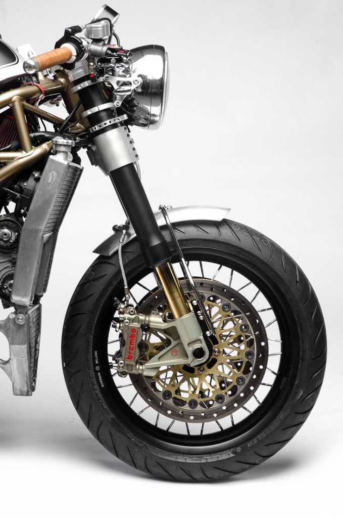 "Ducati Monster S4R ""Black Pearl"" by South Garage"