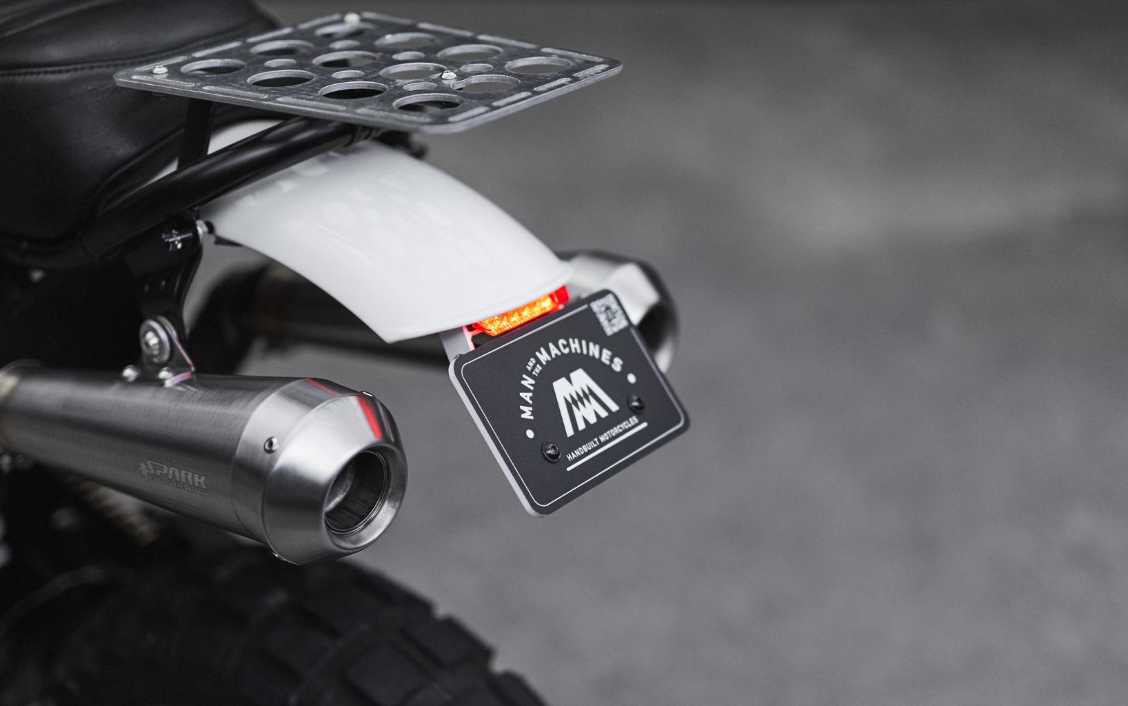 """KTM LC4 640 """"Mountain Scrambler"""" by Man & the Machines"""