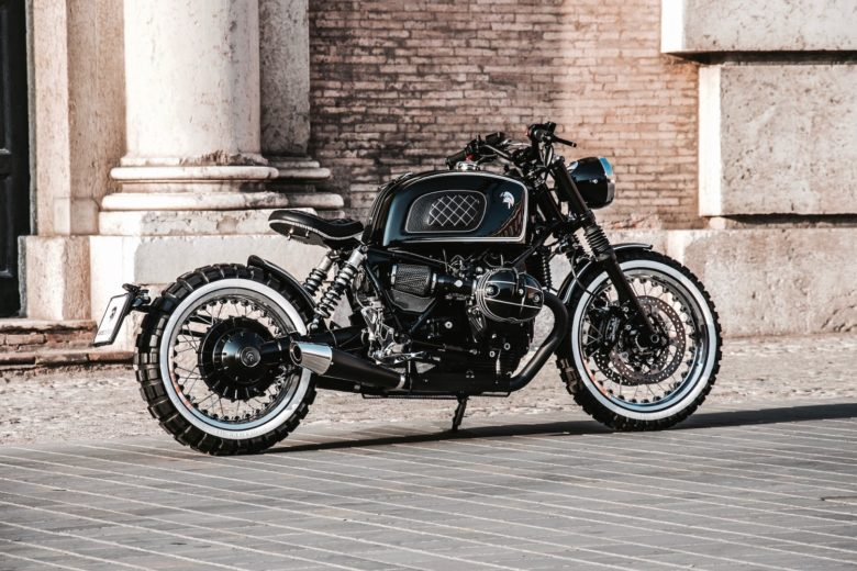 BMW R NineT Retro Scrambler by Ares Design
